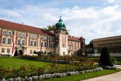 Lancut fortifica a residência das famílias de Pilecki, de Lubomirski e de Potocki imagem de stock royalty free