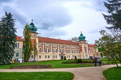 Free LANCUT, POLAND - MAY 4, 2019: Castle - Historically The Residenc Royalty Free Stock Photography - 149142017