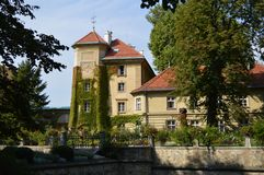Lancutkasteel, Polen stock foto's