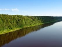 Land 3 van de rivier Stock Afbeelding