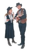Land & Westelijke zangers royalty-vrije stock afbeeldingen