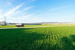 Land-Ansicht, Taichung, Taiwan Stockfotografie