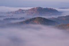 Land av bohemmet Schweiz, Tjeckien Royaltyfri Foto