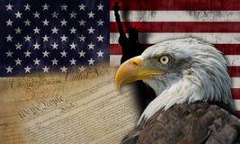 Land av frihet Arkivfoton