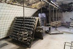 Land av vinproduktion i Abrau Durso Arkivfoto