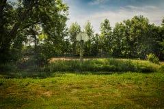 Land-Basketball Stockfotos