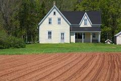 Land-Bauernhaus Stockfoto