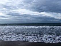 Hot beaches of the Spanish coast royalty free stock photos