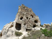 Land of Cappadocia. Beautiful and mysterious land of Cappadocia, Turkey Stock Images