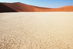 Land cracked - Deadvlei Royalty Free Stock Images