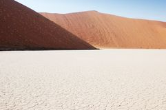 Land cracked - Deadvlei Royalty Free Stock Photo