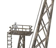 Land crane Royalty Free Stock Images