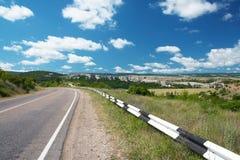 Land-Datenbahn stockfoto