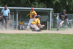 Land des See-Südwestabteilungs-Baseballs Stockfoto