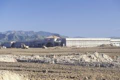 Land development of farm land in Ventura County, California Royalty Free Stock Image