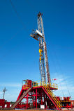 Land drilling rig Royalty Free Stock Image