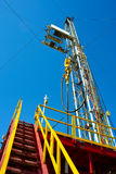 Land drilling rig. Stock Image