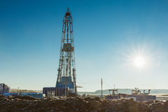 Land drilling rig Royalty Free Stock Photography
