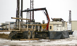 Land drilling rig Stock Image
