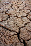Land with dry and cracked. The picture of land with dry and cracked Royalty Free Stock Images