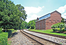 Land-Eisenbahn Lizenzfreies Stockbild