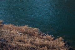Land en water royalty-vrije stock afbeelding