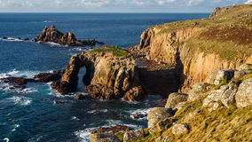 Land End Cornwall England Stock Images