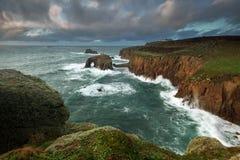 Land-Ende Cornwall stockfotografie