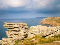 Land-Ende Cornwall Lizenzfreie Stockfotografie