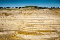 Land erosion Royalty Free Stock Images