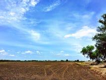 Land för lantgård Arkivbilder