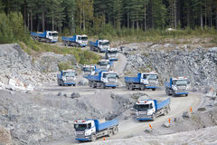 Land-Fahrzeuge Lizenzfreies Stockbild