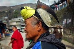 Land & folk av Arunachal In India royaltyfri foto