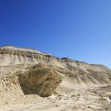 Land formation in Death Valley. Stock Photo