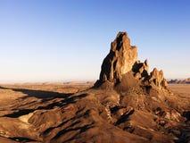 Land formations in Arizona desert. Stock Photos