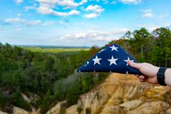 The Land of the Free Royalty Free Stock Photography