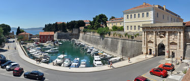 The Land Gate to Zadar Stock Photography