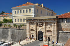 The Land Gate to Zadar Stock Image