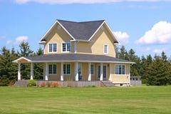 Land-Haus Stockbilder