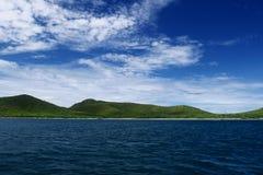 Land, hav och luft Royaltyfri Fotografi