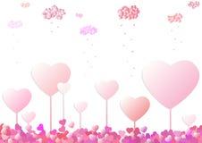 Land of hearts Stock Photos