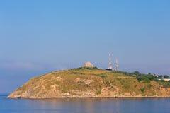 Land i havet Arkivbild