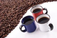 Land-Kaffee Lizenzfreies Stockfoto