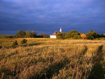 Land-Kirche Stockfotos
