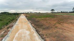 Land klaar voor bouw royalty-vrije stock afbeelding
