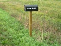 Land-ländlicher Briefkasten stockfotografie