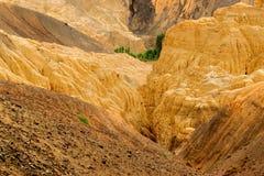 Land, Ladakh, India op de maan royalty-vrije stock foto