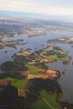 Land of lakes Royalty Free Stock Photo
