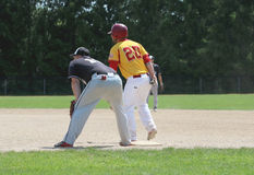 Land of Lakes-Southwest Division Baseball Royalty Free Stock Photos