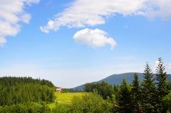 Land-Landschaft Stockfotos